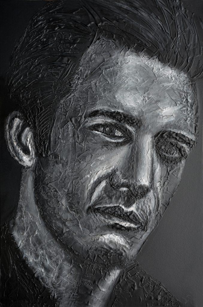 Gilles Marini Portrait by Ludwina Dautovic