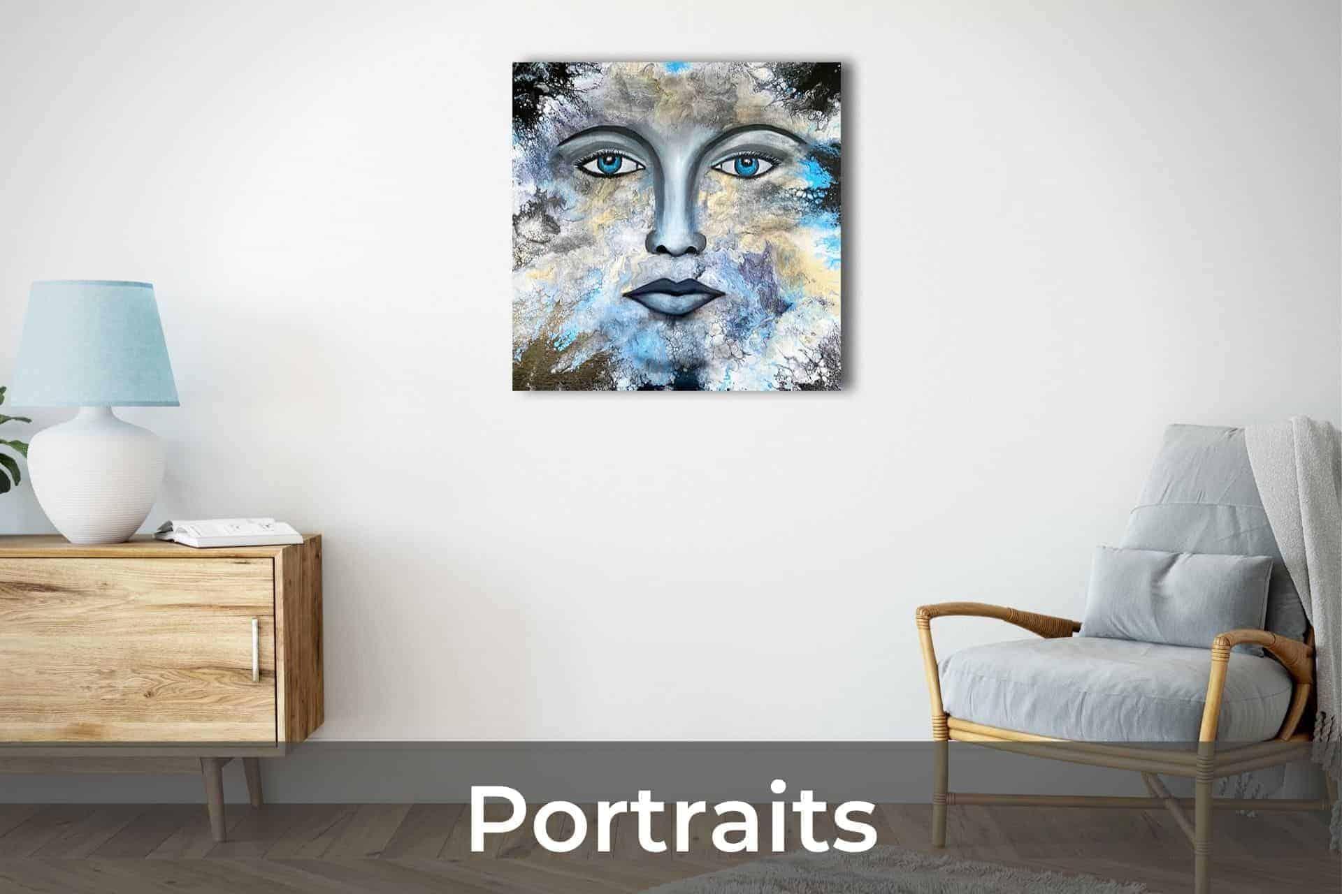 Ludwina Dautovic Australian Business Woman Abstract Portrait Artist